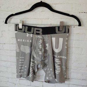 "Under Armour Mens UA Tech 6"" Boxjerjock USA 132741"